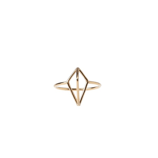 epic: Modell 'Half Diamond Ring - Gold'