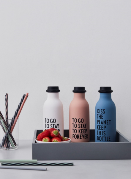 Design Letters: Modell 'TO GO Trinkflasche - NUDE'