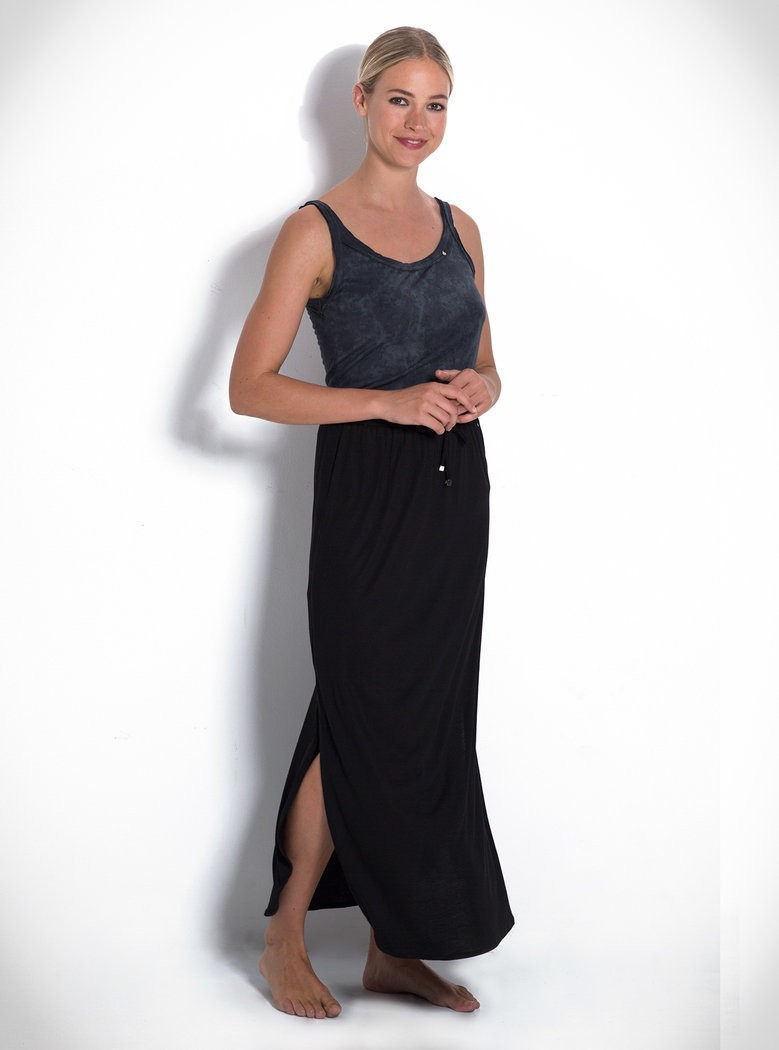 Buddha Wear: Modell 'Paige Skirt - Black'