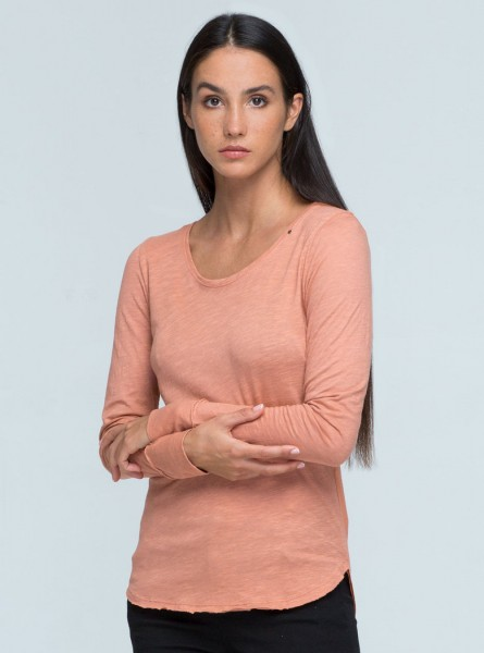 Buddha Wear: Modell 'Rika Longsleeve - Bitter Sweet'