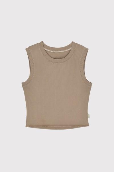 Ecoalf: Modell 'Core T-Shirt - Taupe'