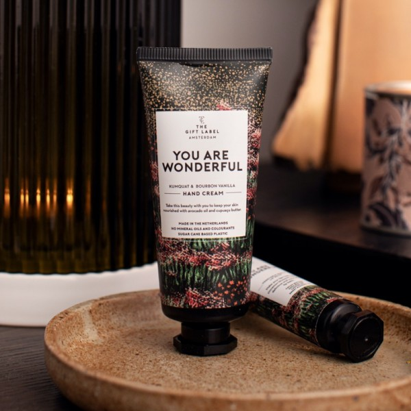 The Gift Label: Modell 'Handlotion Tube - You are wonderful'
