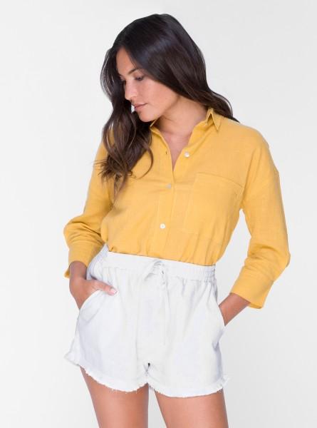 Buddha Wear: Modell 'Georgina Shorts - White'