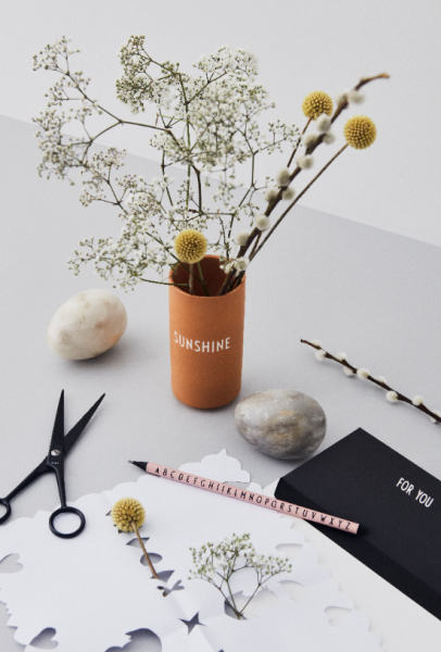 Design Letters: Modell 'Lieblingsvase - SUNSHINE'