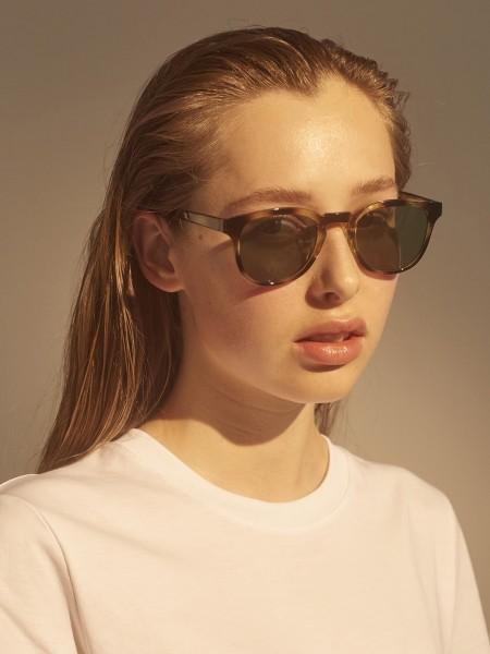 A.Kjærbede: Modell 'Bate Sonnenbrille - Demi Olive'
