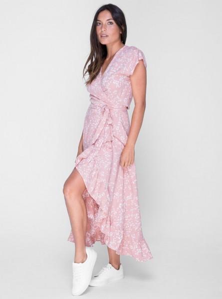 Buddha Wear: Modell 'Sasi Maxi Dress - Rusty Leo'