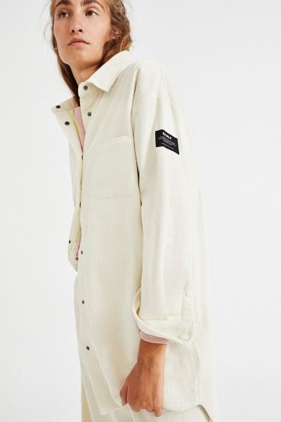 Ecoalf: Modell 'Nendaz Shirt - Off White'