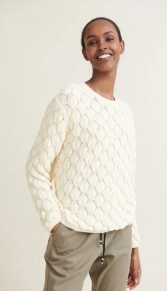 Basic Apparel: Modell 'Milla Sweater - Whisper White'