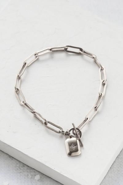 Shlomit Ofir: Modell 'Alena Bracelet - Silver'