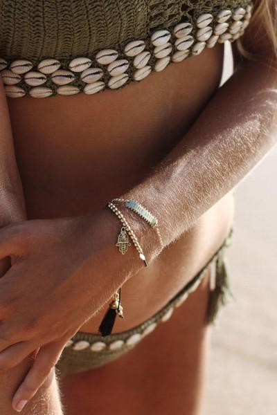 Udara Bracelet - Black Gold
