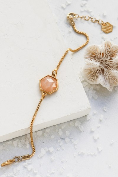 Shlomit Ofir: Modell 'Gala Bracelet Hexagon - Gold'