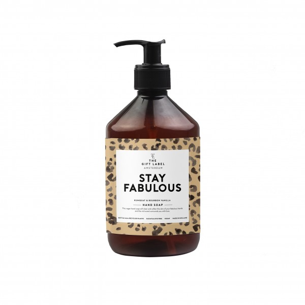 The Gift Label: Modell 'Handsoap - Stay fabulous'