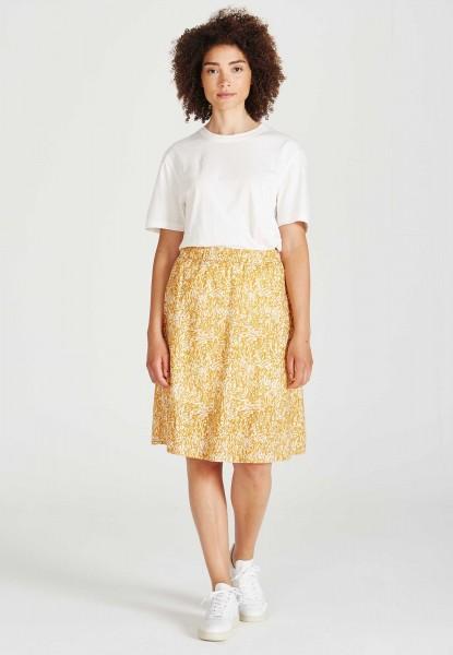 Givn: Modell 'Rea Skirt - Pecan / Off White'