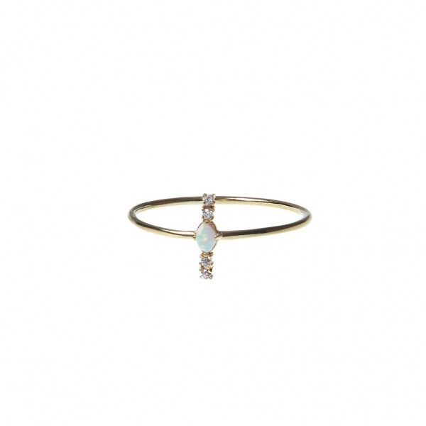 epic: Modell 'Opal Line Ring - Gold'