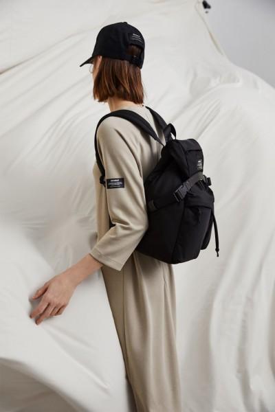 Ecoalf: Modell 'Hagen Backpack - Black'