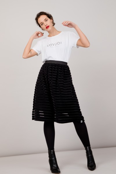 Skirt Waterlily - Black