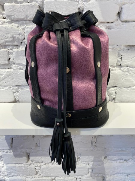 The Statement Thing: Modell 'Sama Bag - Shiny Purple'