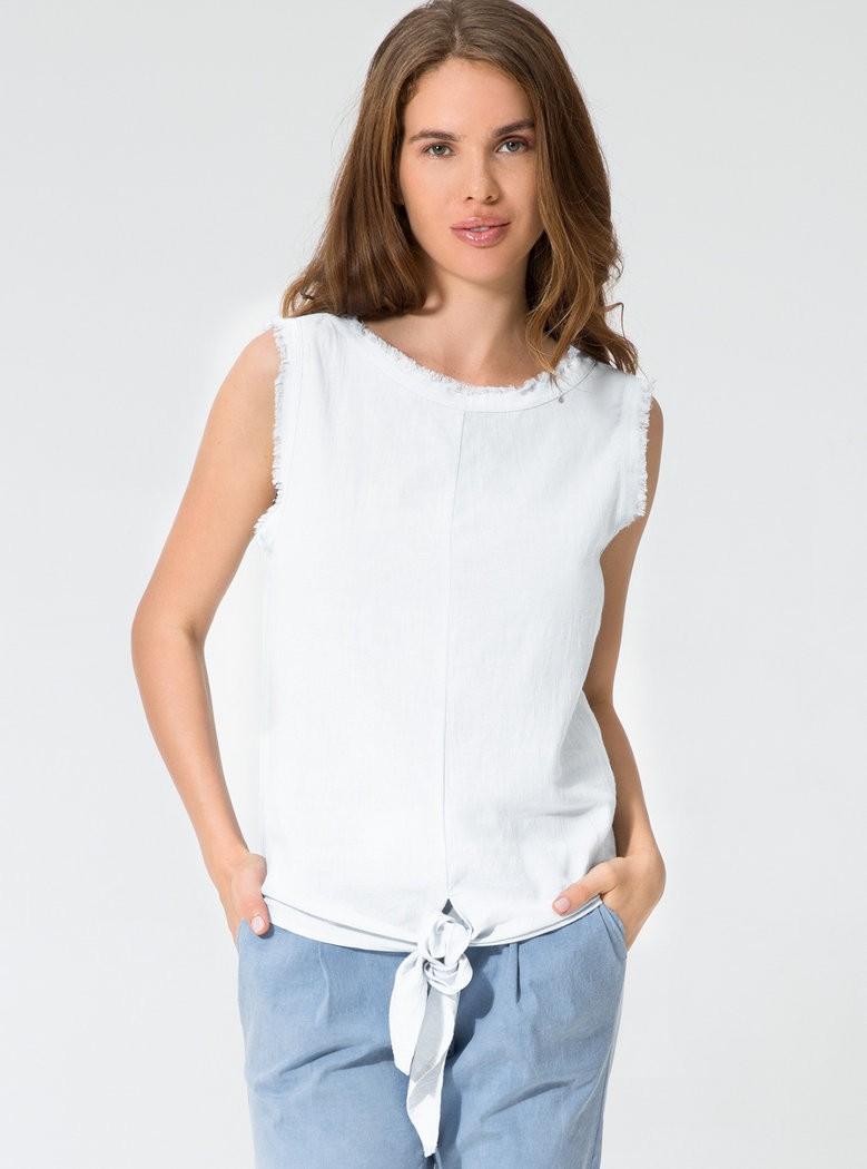 Buddha Wear: Modell 'Cosima Blouse - White'
