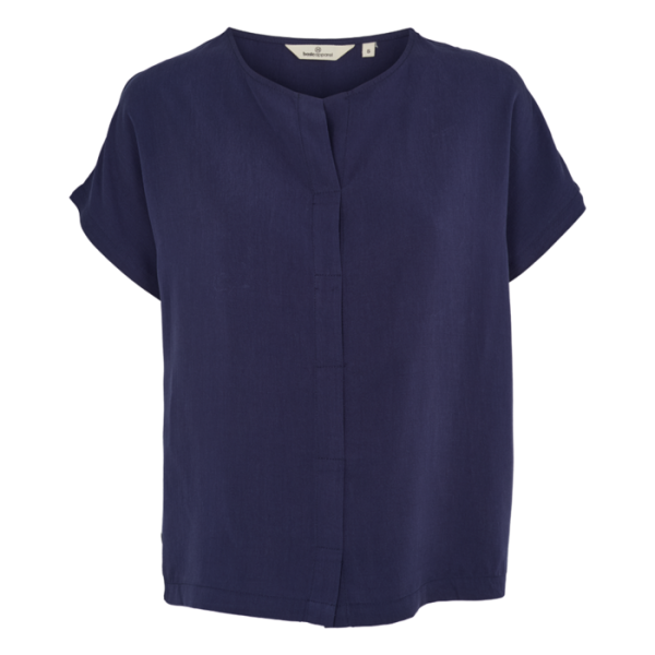 Basic Apparel: Modell 'Ines Top - Navy'