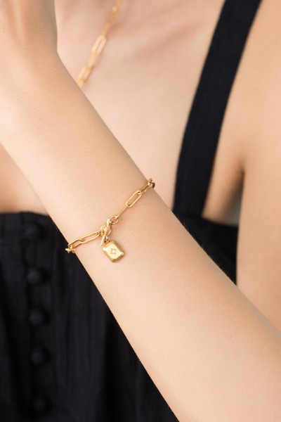 Shlomit Ofir: Modell 'Alena Bracelet - Gold'