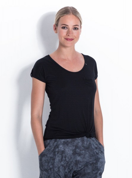 Buddha Wear: Modell 'Marlene Shirt - Black'