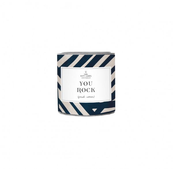 The Gift Label: Modell 'Candle - You Rock'