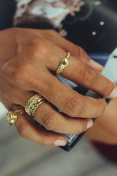 Wildthings: Modell 'Python Ring - Gold'