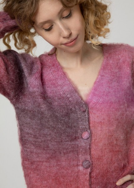 FRNCH: Modell 'Tracy Cardigan - Rose'