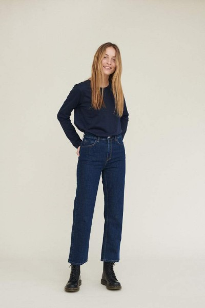 Basic Apparel: Modell 'Ellen Jeans Indigo - Indigo'