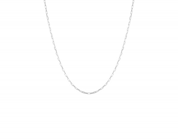 Flawed: Modell 'Zinnia Necklace Long - Silber'
