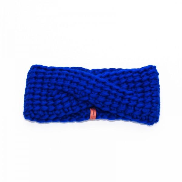 Granny's Finest: Modell 'Roos Stirnband - Königsblau'