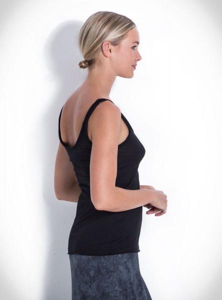 Buddha Wear: Modell 'Aretha Top - Black'