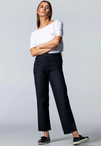 Lovjoi: Modell 'Straight Medlar Jeans - Overdyed Black'