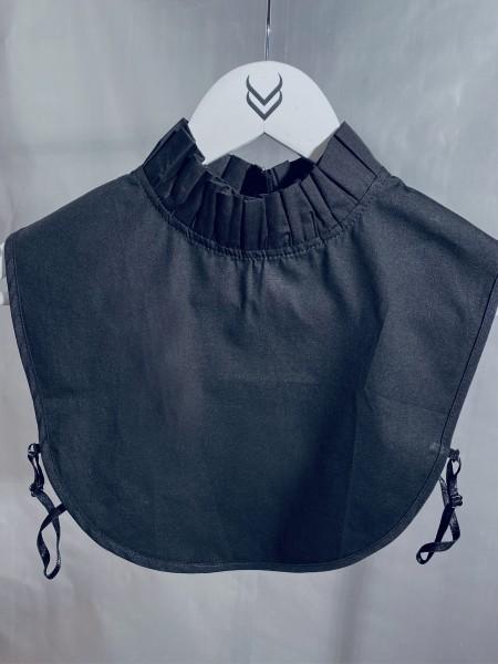 Bluseneinsatz - Stehkragen schwarz