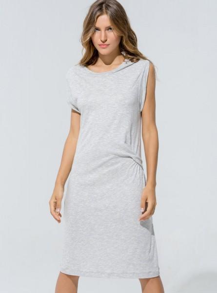 Buddha Wear: Modell 'Tamara Dress - Stone'