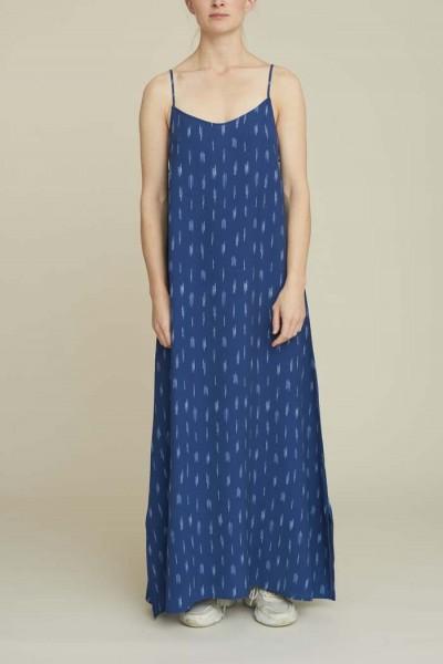 Basic Apparel: Modell 'Fleur Dress - Blue'
