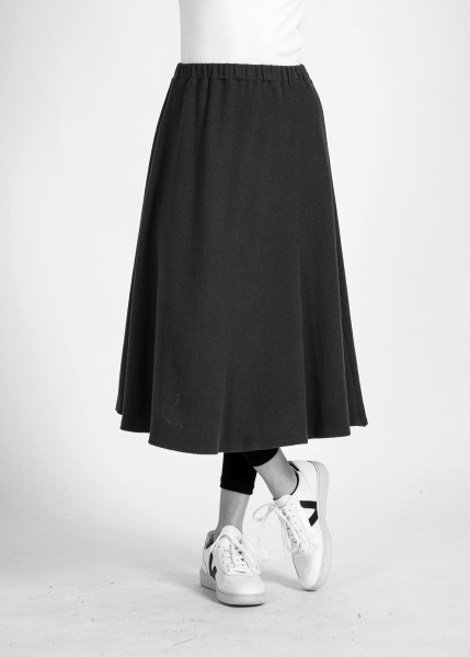 Stoffbruch: Modell 'Vana Skirt - Dark Grey'