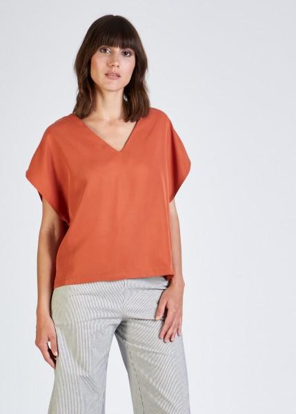 Stoffbruch: Modell 'Ruby Top - Burned Orange'