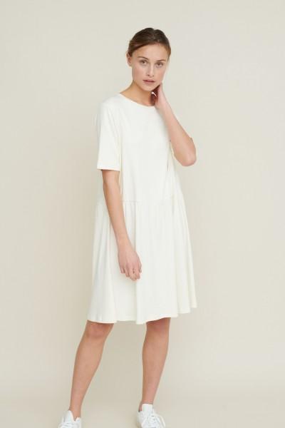 Basic Apparel: Modell 'Signe Dress - Off White'