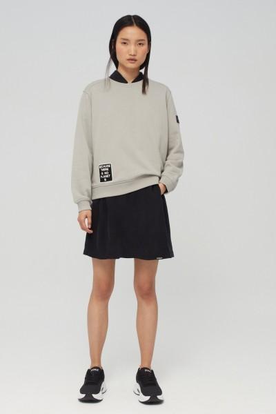 Ecoalf: Modell 'Belen Pach Sweater Woman - Sand'