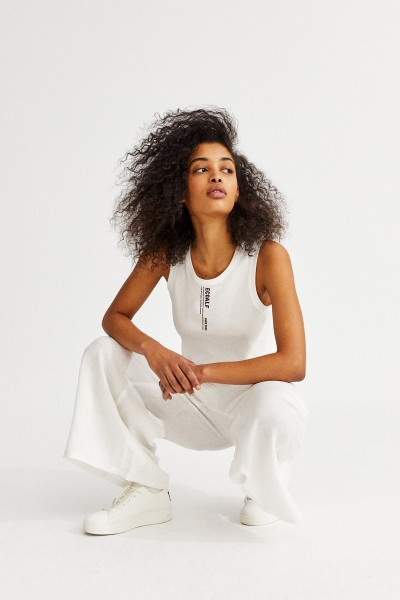Ecoalf: Modell 'Since Tank Top - Off White'