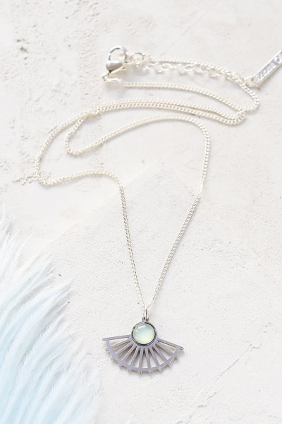 Shlomit Ofir: Modell 'Tillie Necklace - Silver'