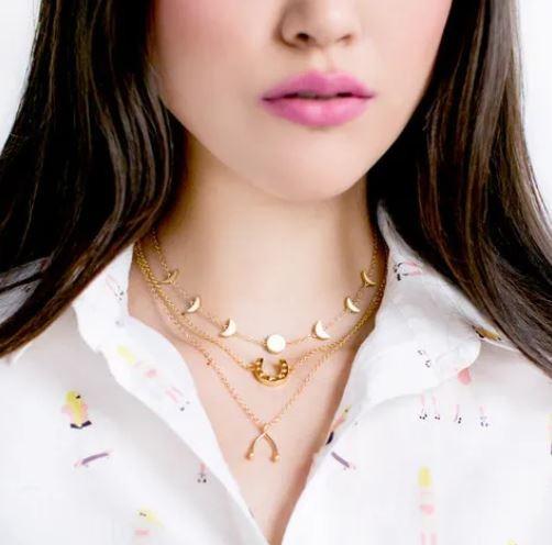 Sugar Blossom: Modell 'Lottie Halskette'
