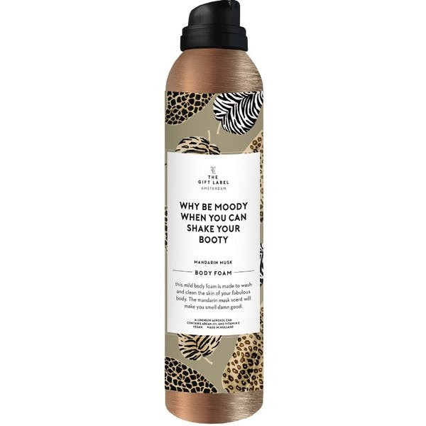 The Gift Label: Modell 'Body Foam - Why Be Moody'