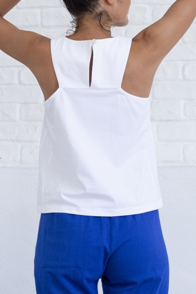 Suite 13: Modell 'Tabia Top - White'