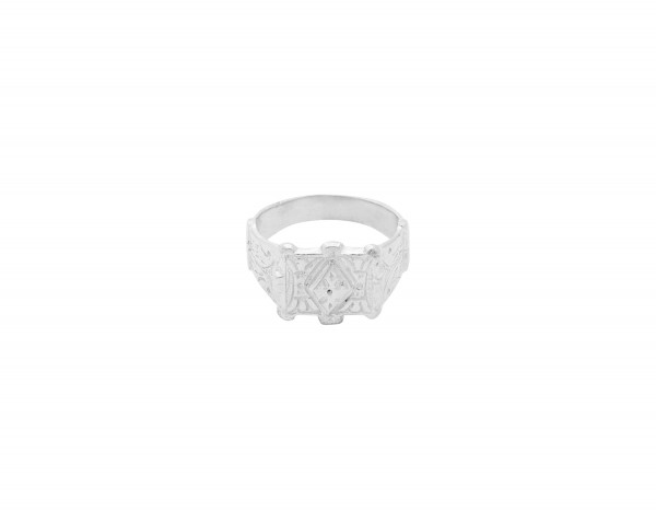 Flawed: Modell 'Majestic Ring- Silber'