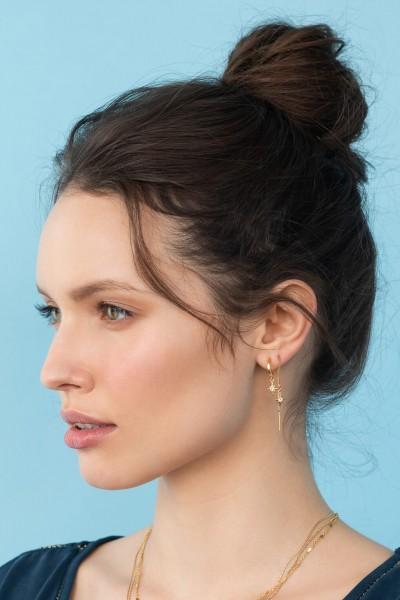 Shlomit Ofir: Modell 'Mythos Hoop Earrings - Gold'