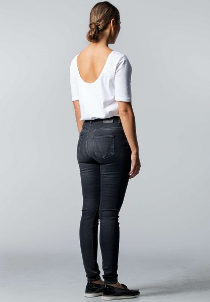 Lovjoi: Modell 'Skinny Lepiota Jeans - Used Black'