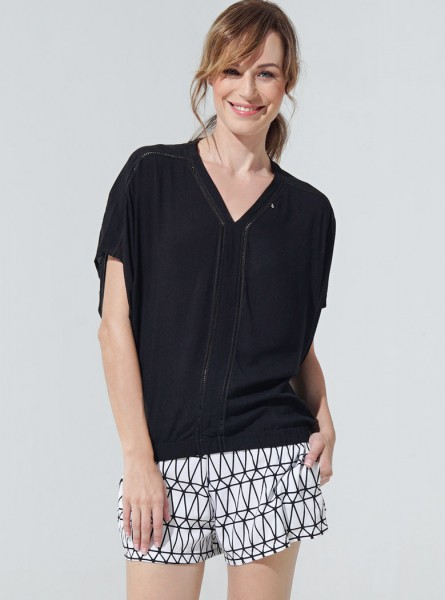 Jasmin Blouse - Black
