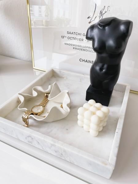 Lumi & Love: Modell 'Cube Kerze - White'